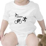 Triatholon - running swimming cycling baby creeper