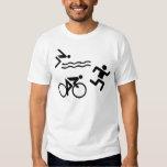 Triatholon - running swimming cycling T-Shirt