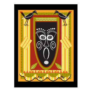 tribal2 postcard