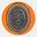 Tribal3 Round Stickers