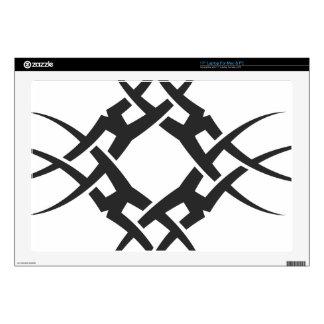 """Tribal 17"""" Laptop Skins"""