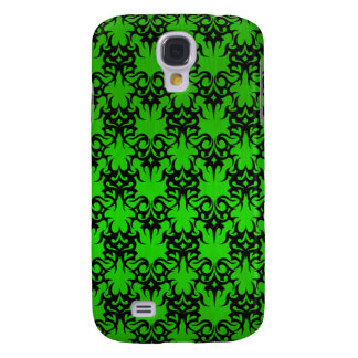 Tribal 2 green galaxy s4 case