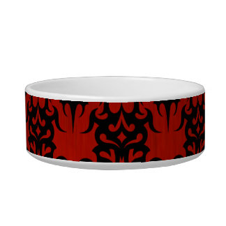 Tribal 2 red bowl