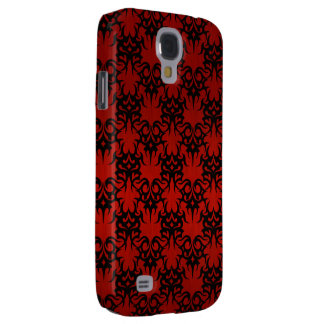 Tribal 2 red samsung galaxy s4 cover