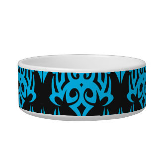 Tribal 5 cyan bowl