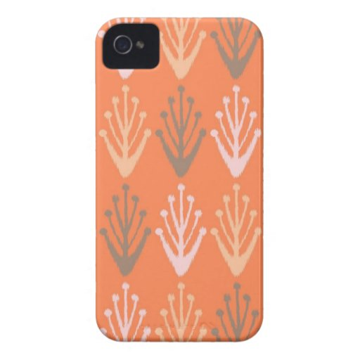 Tribal abstract primitive chevron branch Aztec iPhone 4 Cover