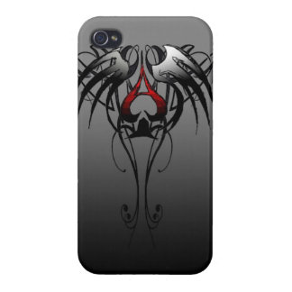 tribal ace of spade phone case iPhone 4/4S case