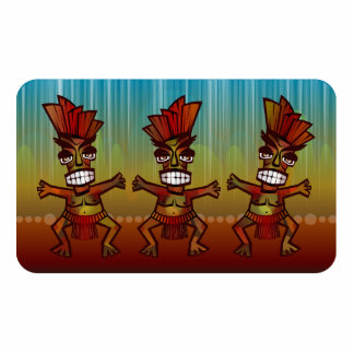 Tribal African Dance Cutout
