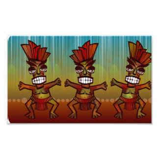 Tribal African Dance Photo Print