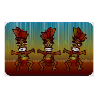 Tribal African Dance Poster