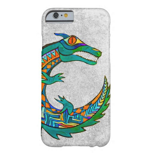 Tribal Alligator Art Barely There iPhone 6 Case