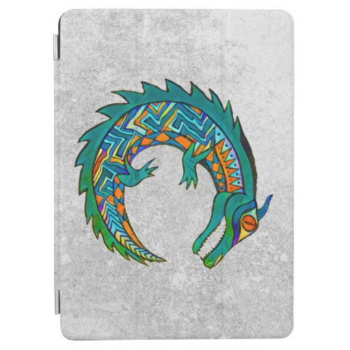 Tribal Alligator Art iPad Air Cover