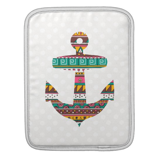Tribal Anchor iPad Sleeve