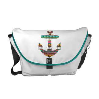Tribal Anchor Courier Bag