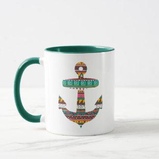 Tribal Anchor Mug