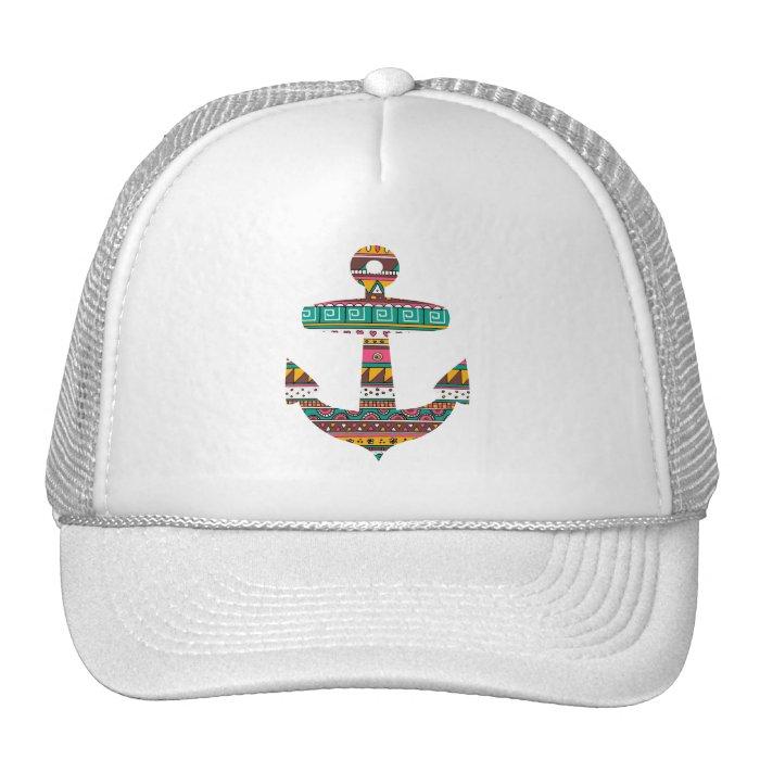 Tribal Anchor Trucker Hat
