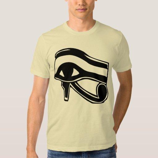 Tribal Ancient Egyptian Eye Symbol Tattoo Designs Shirts