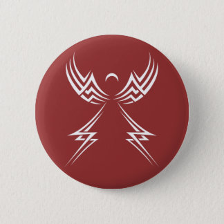 Tribal Angel custom button