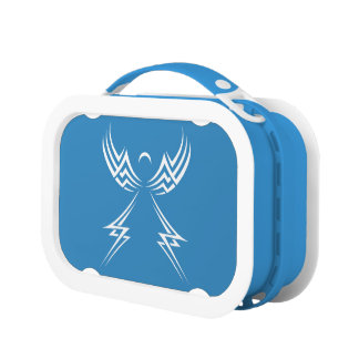 Tribal Angel custom color lunch boxes