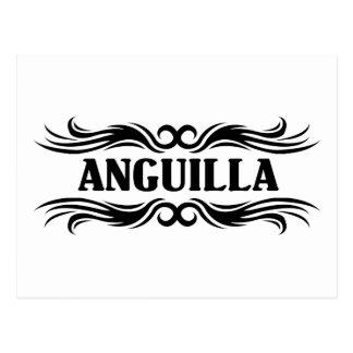 Tribal Anguilla Postcard