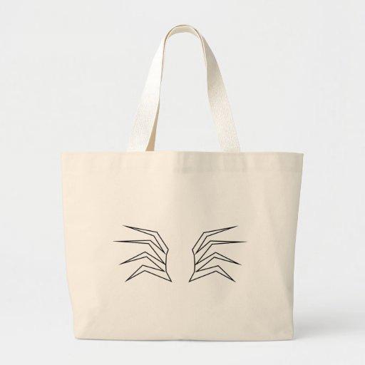tribal araña de spider aquel spi bolsa
