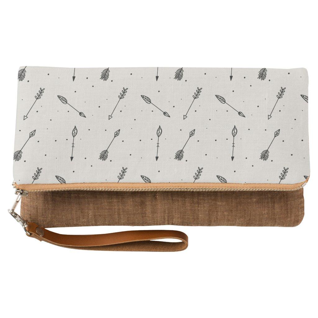 Tribal Arrow Boho Pattern Clutch