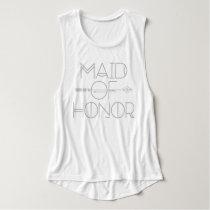 Tribal Arrow Maid of Honor | Wedding Party| Tank
