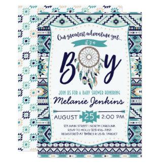 Tribal Arrows Baby Shower Invitation, It's a boy Card