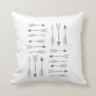 Tribal arrows by VOL25 Throw Pillow