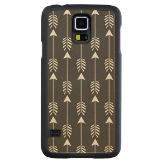 """""""Tribal Arrows"""" Maple Wood Galaxy S5 Case Carved® Maple Galaxy S5 Case"""