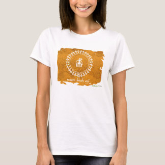Tribal Art T-Shirt - White