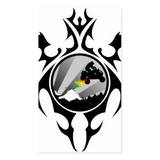 tribal atv trailz business card