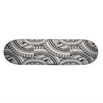 Tribal Aztec Art Skateboard Deck