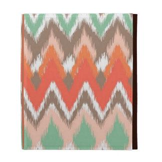 Tribal aztec chevron zig zag stripes chic pattern iPad cases