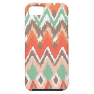 Tribal aztec chevron zig zag stripes chic pattern iPhone 5 case