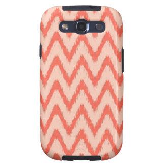 Tribal aztec chevron zig zag stripes ikat pattern galaxy s3 cover