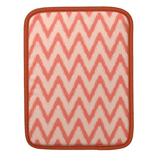 Tribal aztec chevron zig zag stripes ikat pattern sleeves for iPads