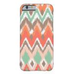 Tribal aztec chevron zig zag stripes ikat pattern iPhone 6 case