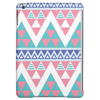 Tribal aztec colorful pattern iPad air cover