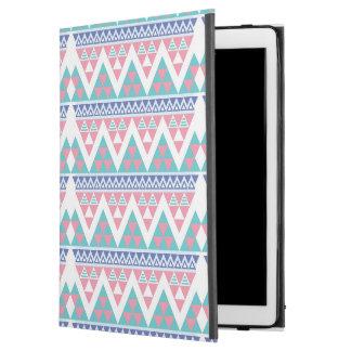 "Tribal aztec colorful pattern iPad pro 12.9"" case"