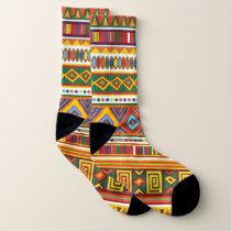 Tribal Aztec Pattern Socks