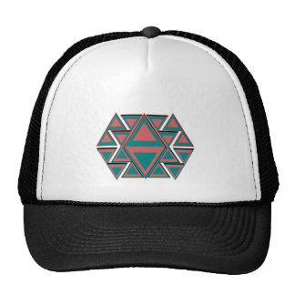 Tribal Aztec Pattern Trucker Hat Baseball Cap