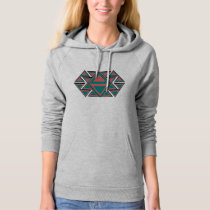 Tribal Aztec Pattern Women's Fleece Pullover Hoodi