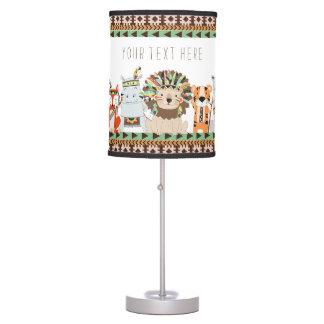 Tribal Baby Kids Table Lamp