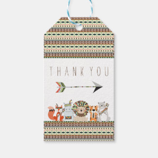 Tribal Baby Shower Gift Tags