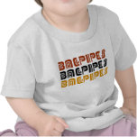 Tribal Bagpipes Trio Music Gift T Shirts