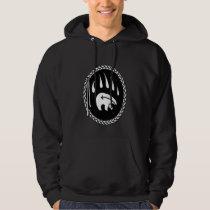 Tribal Bear Art Hoodie Bear Claw Hoodie