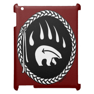 Tribal Bear Art Ipad Case Wildlife Art iPad Case