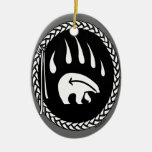 Tribal Bear Art Ornament Bear Keepsake & Gifts