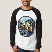 Tribal Bear Art Shirt Polar Bear Men's Shirts